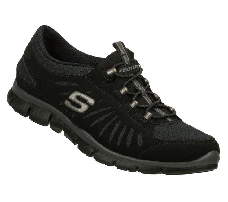 SKECHERS Women's Gratis - In Motion Bungee Sneakers. Ocasional De Las  MujeresSkechersZapatos DeportivosSneakers CasualesRelaxAthleticNegro