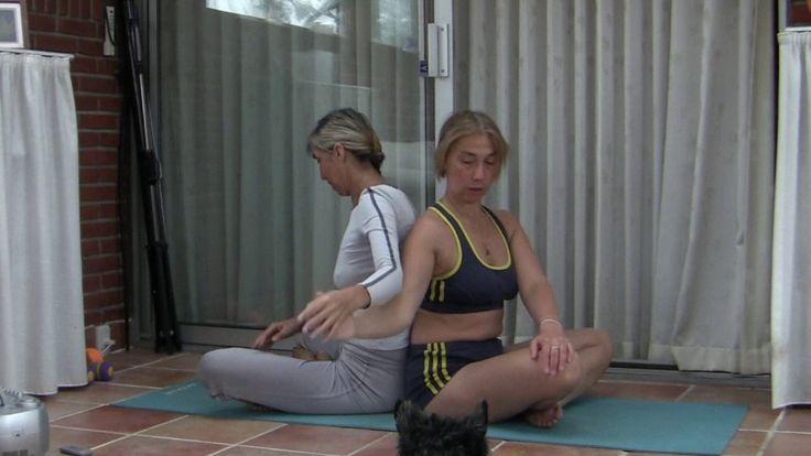 Парная йога 2 Ирина и Александра