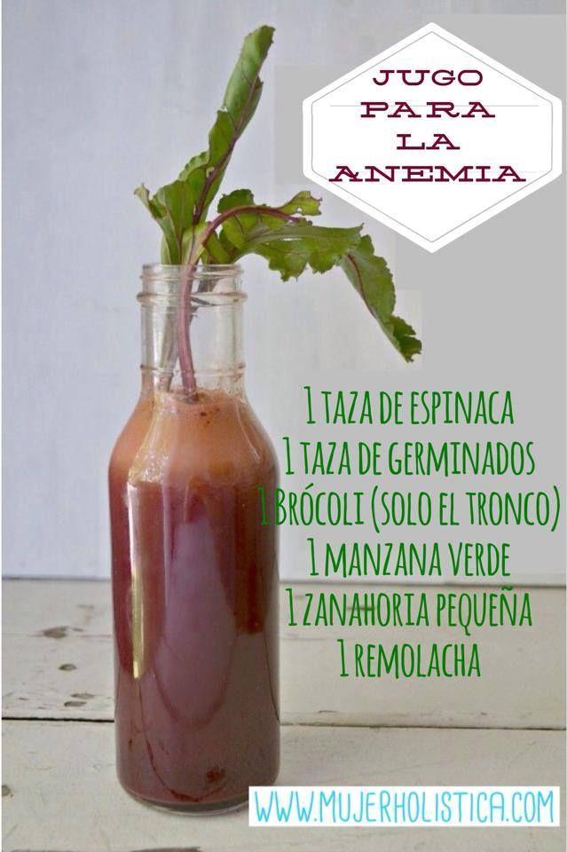 Buenos días hoy le presentamos este Jugo verde para la anemia! La anemia es la falta de glóbulos rojos en la sangre.