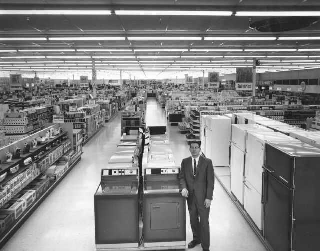 1967 K Mart Appliance Department Vintage Shops Retail