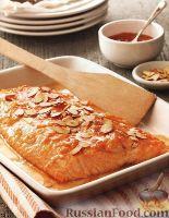 Фото к рецепту: Лосось, запеченный в духовке в апельсиновой глазури http://www.russianfood.com/recipes/recipe.php?rid=123963