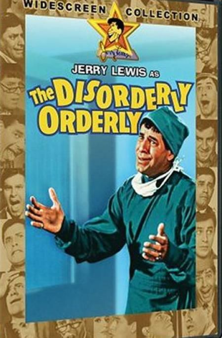 Jerry Lewis as the Disorderly Orderly