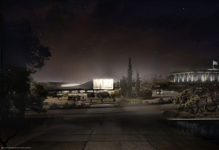 Images Released of New Herzog & de Meuron-Designed National Library of Israel