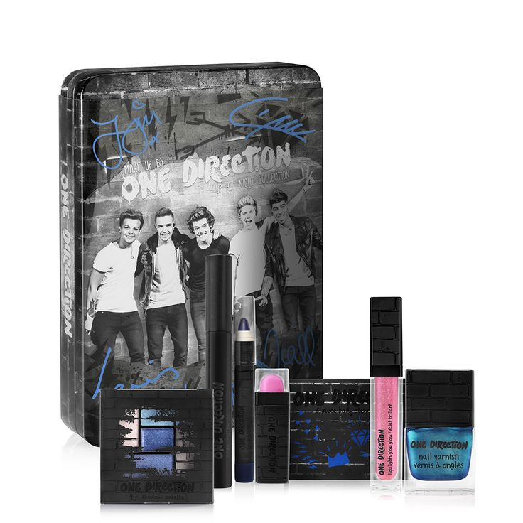 Win Autographed Make-up by ONE DIRECTION!  Winners will receive a Make-up by ONE DIRECTION limited-edition collection of beauty essentials, housed in a collectible keepsake tin. Inside is everything you need to rock all your beauty looks on or off the stage!