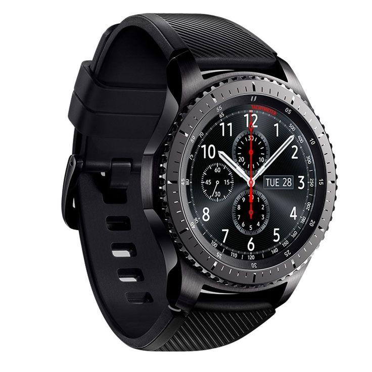 Ceas Smartwatch Samsung Gear S3 Frontier – Rezistent la apa! Procesor Dual core de 1 GHz, o memorie RAM de 0.75 GB si o capacitatea de stocare de 4GB. Ca si conectivitate te vei putea conecta atat prin Bluetooth, Wi-fi cat si NFC. Ceasul este foarte rezistent la socuri, zgarieturi cat si protectie impotriva apei cu IP68. Samsung Gear S3 dispune de senzor Accelerometer, Gyro, Barometer, Heart Rate si un senzor de lumina.  viewnews.ro
