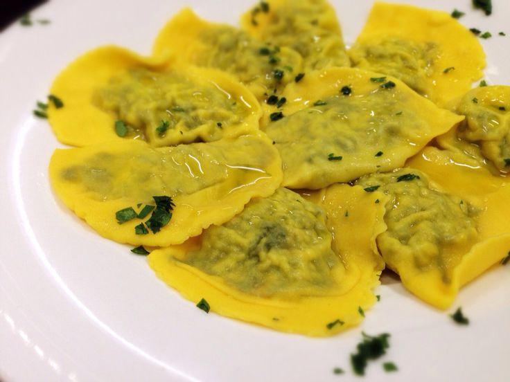 Tortelli di ricotta e spinaci....