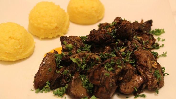 Ficatei de pui cu ceapa si usturoi - Adygio Kitchen