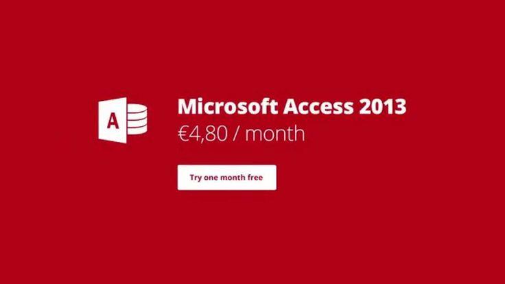 Microsoft Access 2013 - remote access #msaccess #access2013