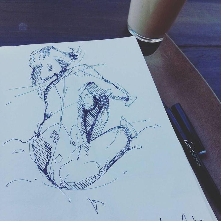 ___________________________________ #figurestudies #figuresketch #nudesketch #sketchaday #artistmafia #artempire #worldofartists #artgallery #art_spotlight #art_empire #art_collective #instaart #bangbangstudio #draw #sketch #drawing #copicmarkers #pilotfineliner #sketching #art #artwork #moleskin #skechbook #copic #markers #concept #design #idsketching #speedsketch #characterdesign