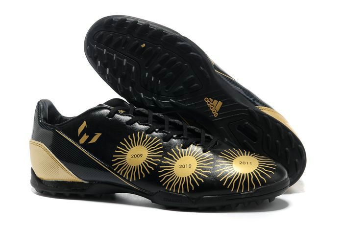 Adidas Adizero F50 TRX TF Messi Boots 2013 - Sonic Yellow Black