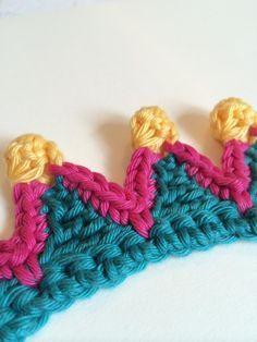 Crochet Edge - Photo Tutorial ❥ 4U hilariafina http://www.pinterest.com/hilariafina/