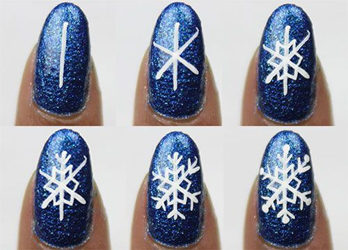 61 best winter nail art tutorials images on pinterest christmas nice 15 easy step by step winter nail art tutorials for beginners 2016 prinsesfo Choice Image