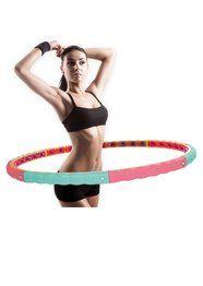 Hula Hoop Reifen Bauchtrainer, 2,1 kg, »Anion Hoop«, Hoopomania - weitere Sortimente