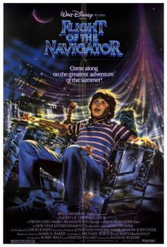 Flight of the Navigator 27x40 Movie Poster (1986)