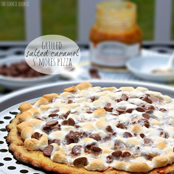 Grilled Salted Caramel S'mores Pizza Snickerdoodle Crust!!- Before your head out on your next family camping trip, you must check out these 26 camping recipes. We will want to try these family-friendly recipes ranging from main entrees to desserts and snacks. These meal ideas are sure to make your next campout a great success!