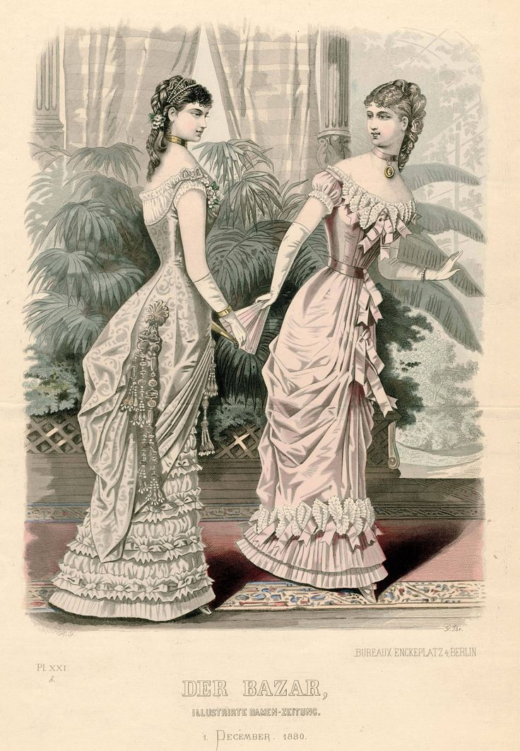 Der Bazar 1880