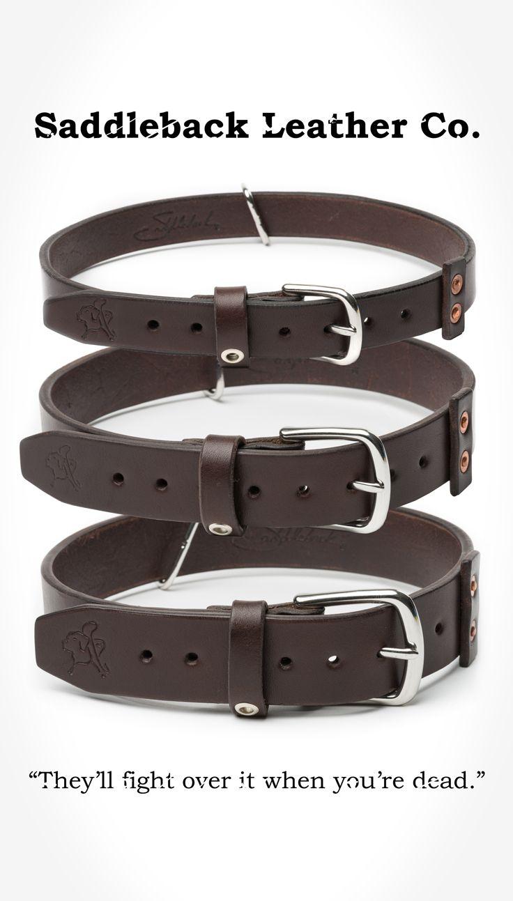 Saddleback Leather Dog Collar