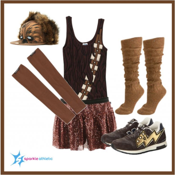 Chewbacca Running Costume | runDisney | Running | Race Costume | Disney | Sparkle Athletic | #TeamSparkle | Halloween | Athletic Costume | Star Wars