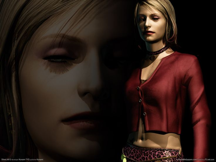 This woman was so messed-up! (Silent Hill 2)