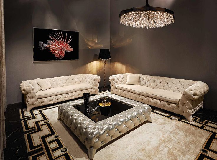 """Luxury Living Rooms"" ""Luxury Living Room Ideas"" By InStyle-Decor.com Hollywood…"