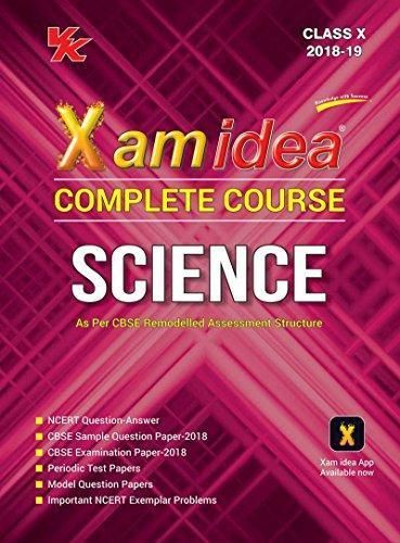 Xam Idea Complete Course Science Class 10 for 2019 Exam | Best CBSE