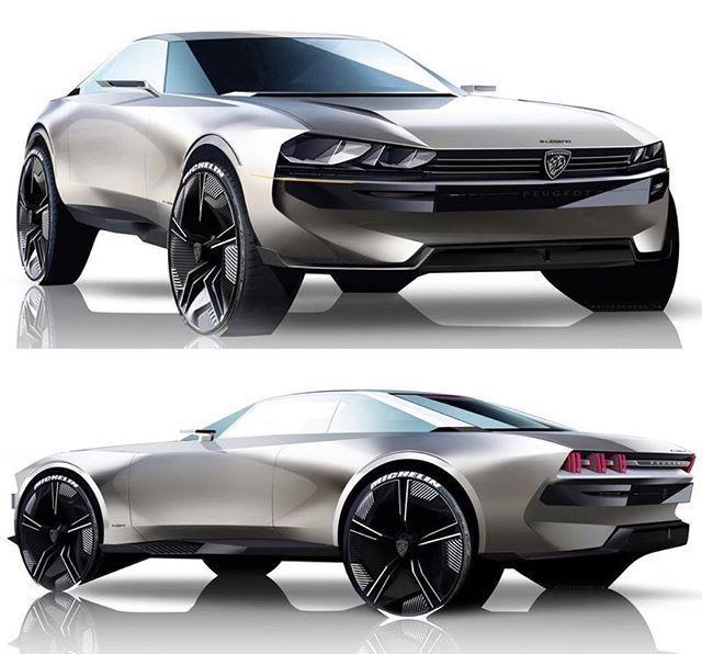 E-Legend Idea la nouvelle 504 par Peugeot