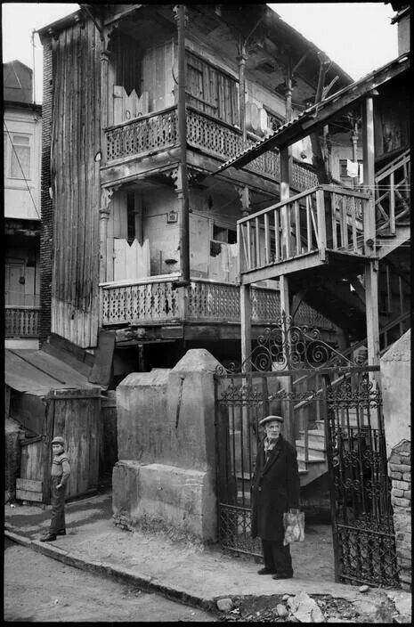Old Tbilisi by Henri Cartier-Bresson 1972