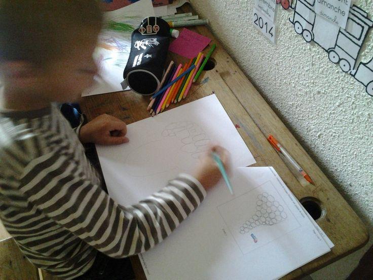 ACTIVITES: apprend � dessiner le raisin
