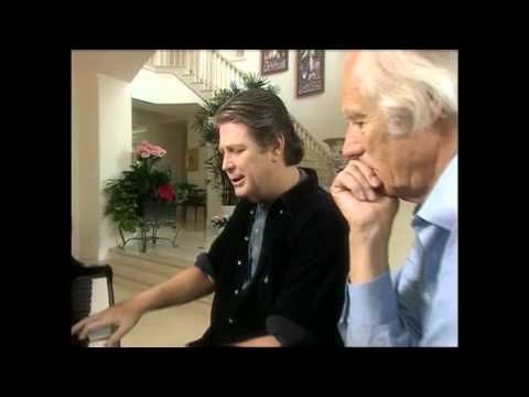 """Brian Wilson & George Martin playing God Only Knows in LA. 