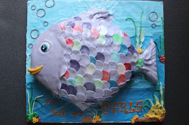 the rainbow fish cake    der regenbogenfisch