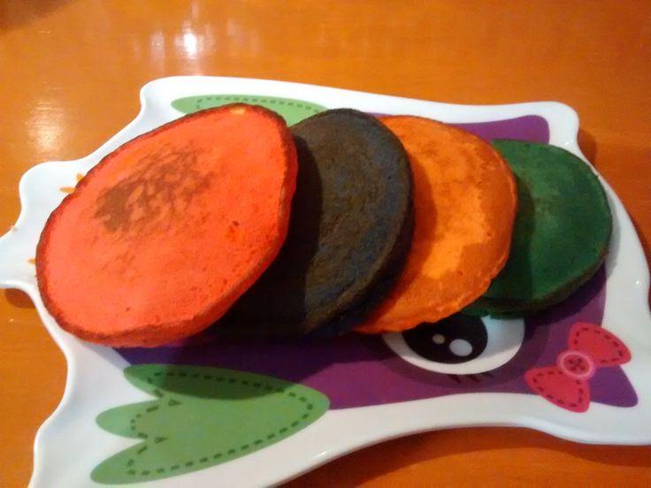 Hot Cakes de colores.