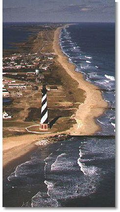 Cape Hatteras National Seashore, North Carolina, US. I can see myself here now actually.