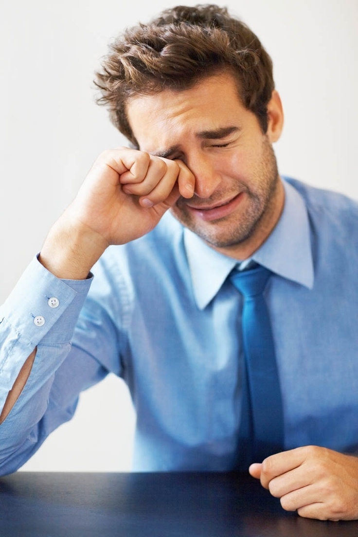 Study Shows Men Who Cry Are at a Higher Risk of A Lot of Things~Satire
