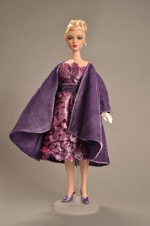 """Sandra Stillwell Presents: Bellissimo! Italian Style! ~ Thursday Optional tour of Frist Museum"""" Italian Style"""" exhibit ~ ~ Souvenir outfit ~ """"Fiore Viola"""" based on design in the exhibit"""