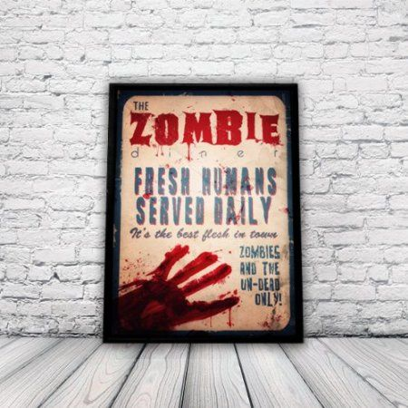 Zombie Kitchen Decor