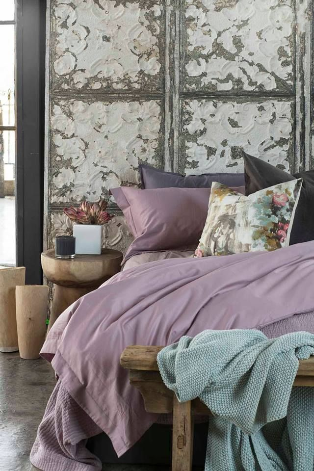 Loads of Living 300TC cotton sateen bedding in a gorgeous Vintage Rose colour. #loadsofliving #decor #bedroom