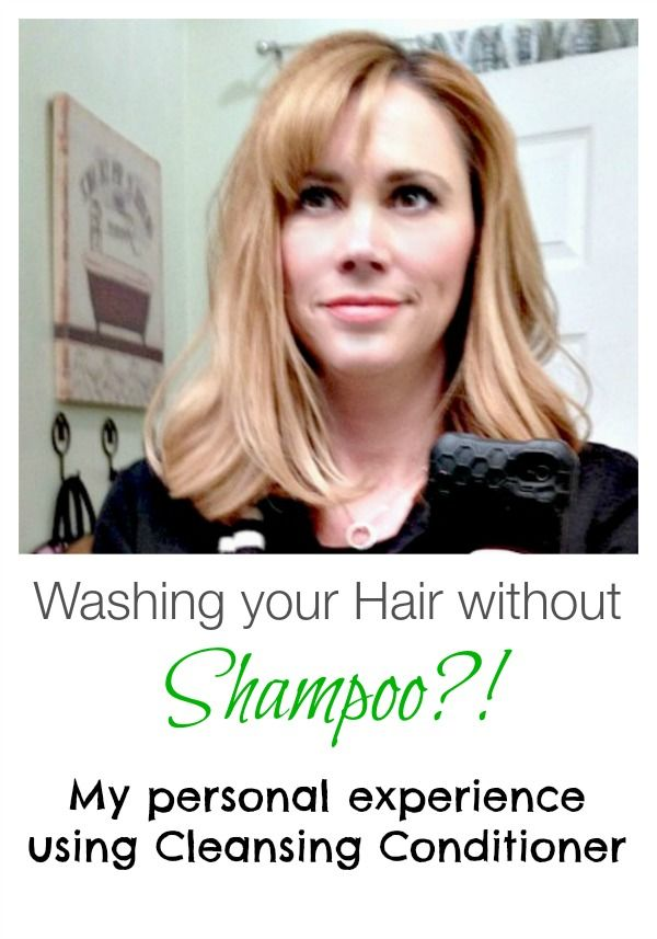 how to clean your hair without shampoo