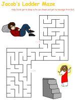 jacob's ladder crafts for kids | Jacob's Ladder Printable Worksheets