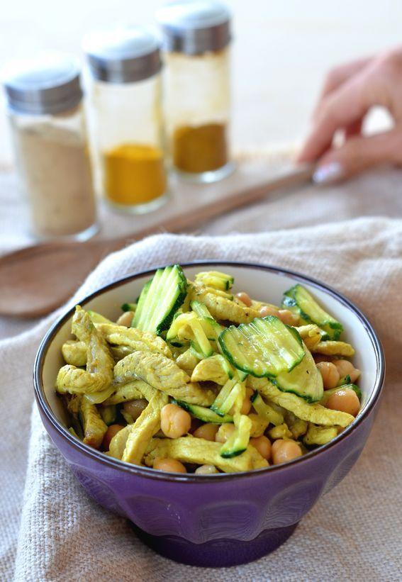 #POLLO, CURRY E #ZUCCHINE #ricetta http://bit.ly/2djF97z  velocissimo da preparare, facile e gustosissimo!