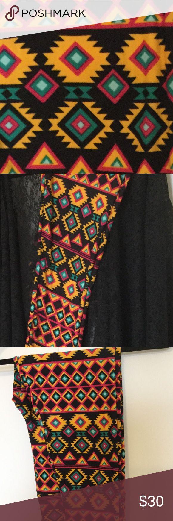 New! TC leggings! Super cute Aztec.  LuLaRoe. New! TC leggings! Super cute Aztec.  LuLaRoe. Bundle 2or more and make offer. 😀 LuLaRoe Pants Leggings