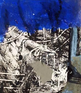 "Saatchi Art Artist remus-lucian stefan; Painting, ""pictografia 1"" #art"