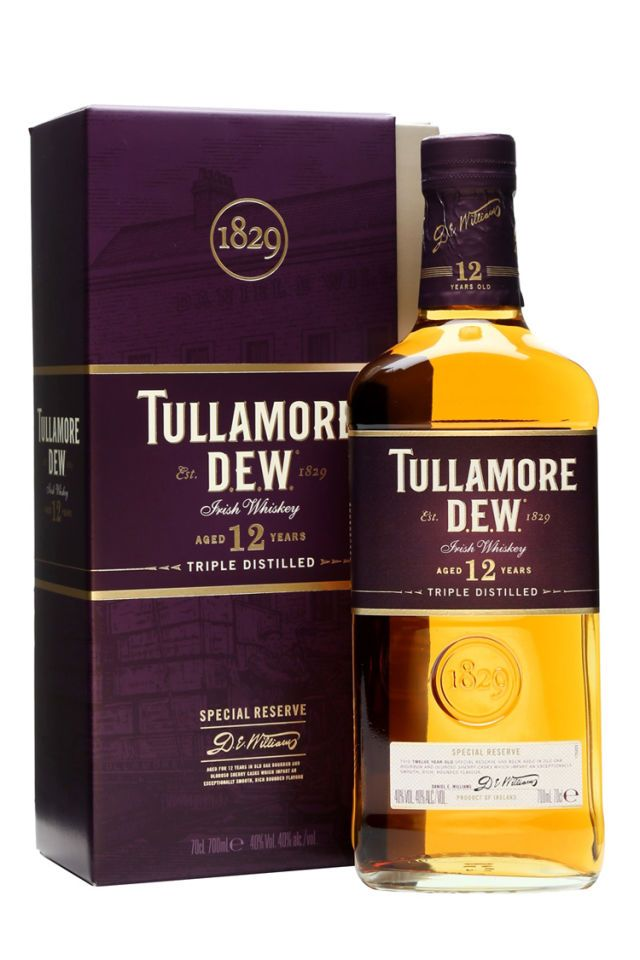 Tullamore Dew 12-Year Special Reserve Irish Whiskey - BestProducts.com