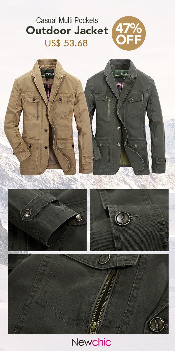 baba9c61190 Plus Size Men s Outdoor Jacket Solid Color Casual Business Cotton Coat.   jacket  coat  winter  outdoor  menswear