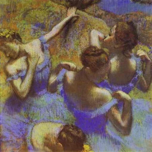 Degas: Artists, Blue Dancers, Fine Art, Dancers 1899, Edgar Degas, Paintings