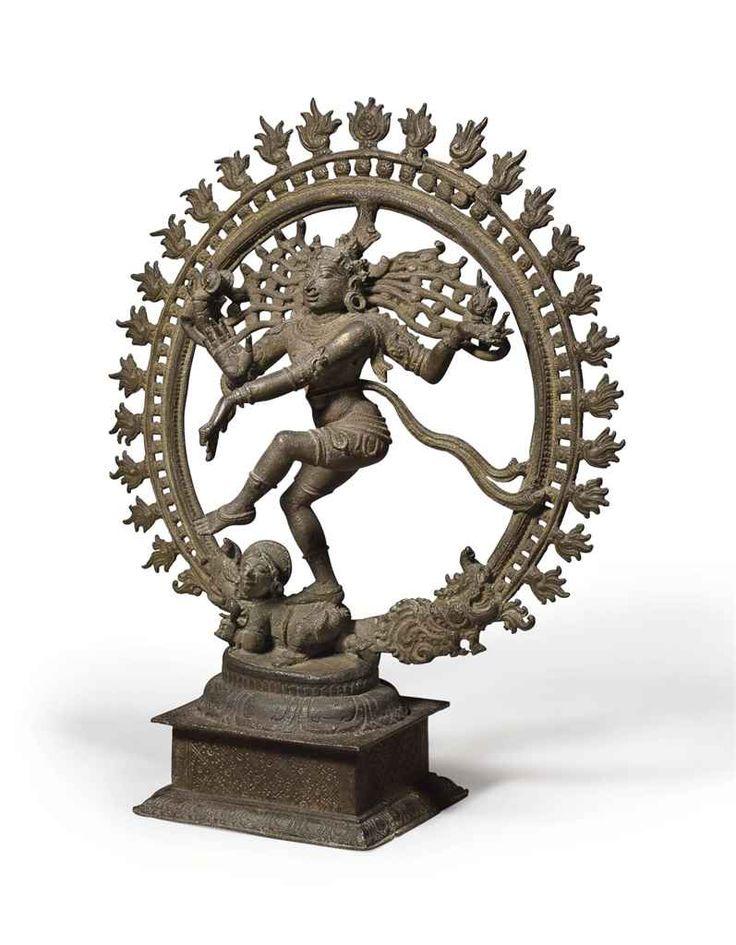 A rare bronze figure of Shiva