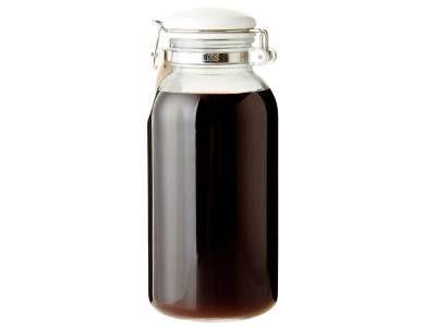 [鍋つゆじょうゆ] 料理レシピ|みんなのきょうの料理・・・鍋のつゆだけじゃなくて、オカズの味付けにもうどんのつゆにも良い。冷蔵庫に保存しておくと便利。