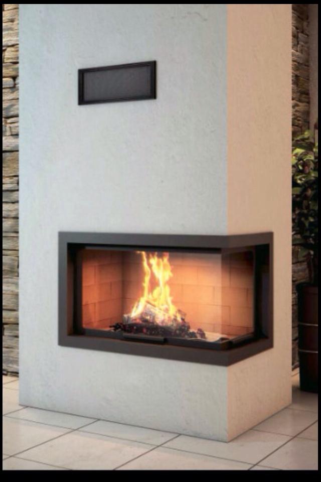 Corner fireplace - archiexpo.com
