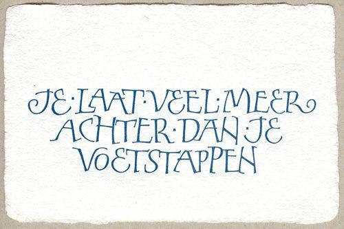 Wenskaarten liggend formaat - Papierschepperij Piet Moerman