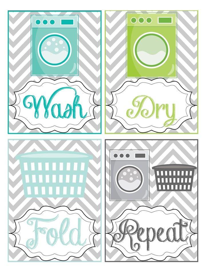 Laundry Room Printables