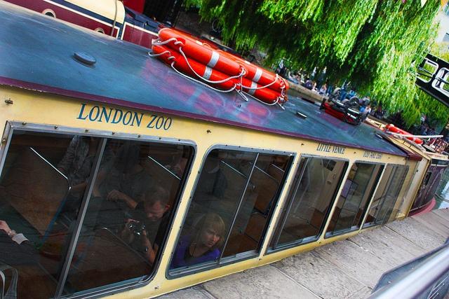 Barge at Camden Locks, London via http://townfish.com. Follow us: http://twitter.com/townfish_london